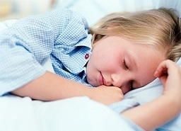 Photo of a Boy Sleeping