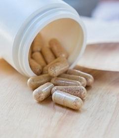 Bottle of Caralluma Supplements