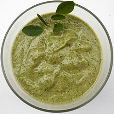 Glass of Moringa Smoothie