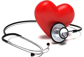 Figure of Heart and Stethoscope